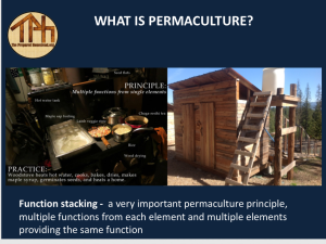 Permaculture Property Design Coaching North Idaho