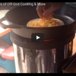 Day 1 – 30 Days Off-Grid Cooking & More