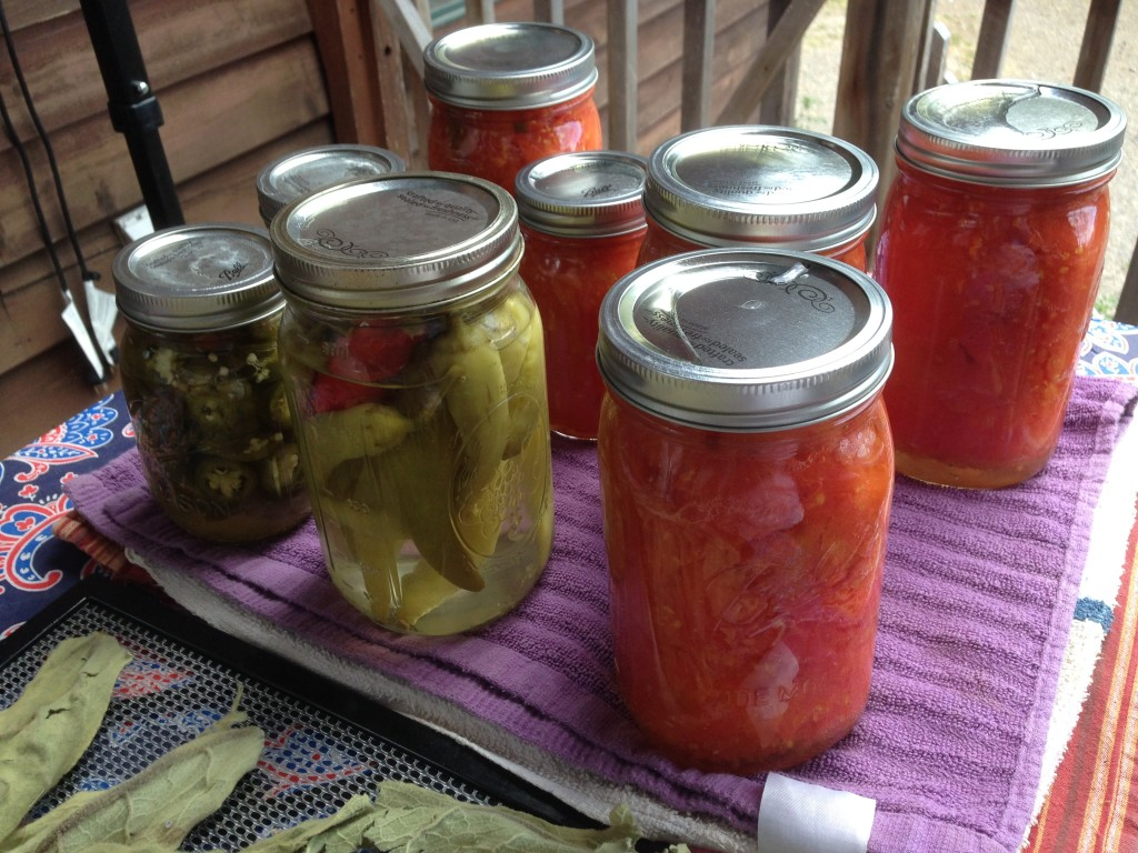 Canning Season and the Rocket Stove