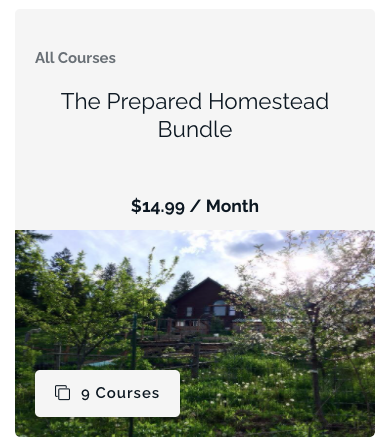 preparedness, homesteading, herbal medicine